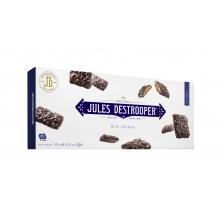 Biscuits de arroz crujiente recubiertos de chocolate con leche y chocolate negro 100 g