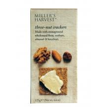 Miller's Harvest. Crackers con avellanas, almendras y nueces 125 g