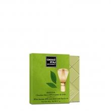 Chocolate blanco 30% cacao, con té Matcha BIO 20 g