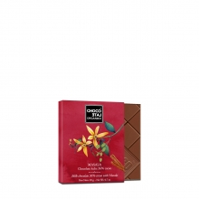 Chocolate con leche 36% cacao, Masala BIO 20 g