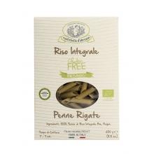 Penne Rigate de arroz integral sin gluten BIO 250 g