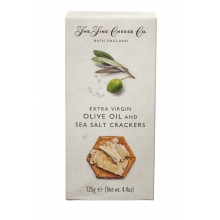 Crackers de aceite de oliva virgen extra y  sal 125 g