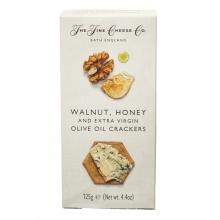 Crackers de aceite de oliva virgen extra, nueces y miel 125 g