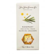 Crackers de aceite de oliva virgen extra y romero 125 g