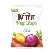Chips vegetales fritos, con sal marina 100 g