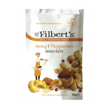 Mezcla de frutos secos con miel y pimienta 50 g