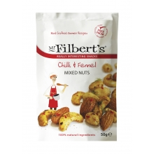 Mezcla de frutos secos con chili e hinojo 50 g