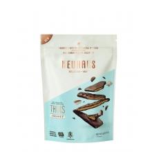 Biscuits finos con coco y recubiertos de chocolate negro 114 g