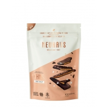 Biscuits finos con sal de Guérande y recubiertos de chocolate negro 114 g