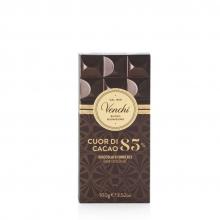 Tableta de chocolate extra amargo (85% cacao) 100 g