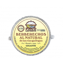 Berberechos al natural 15/20 pza. 111 g
