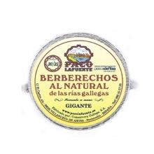 Berberechos al natural 30/35 pza. 115 g
