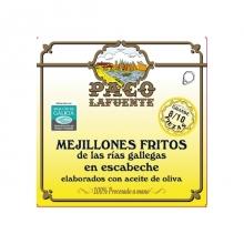 Mejillones fritos en escabeche  8/10 pza. 115 g