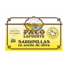Sardinillas en aceite de oliva 16/18 pza. 125 g