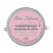 Sardinillas Rosa Lafuente en aceite de oliva 42 pza. 120 g