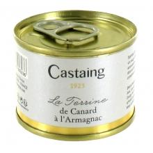 Le Terrine de Canard à l'Armagnac 67 g