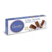 Crêpe Dentelle recubiertos de chocolate con leche 90 g