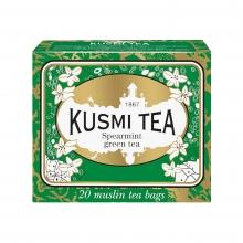 Spearmint Green Tea 20 Muslins