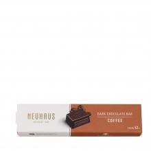 Barrita de chocolate negro 52% cacao y rellena de ganache de café 55 g