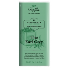 Chocolate negro al té Earl Grey 70 g