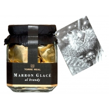 Marron Glacé al brandy  200 g