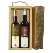 Pack de aceite Picual y vinagre Cabernet Sauvignon | 2 btll de 50 cl