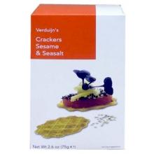 Crackers de sésamo y sal 75 gr