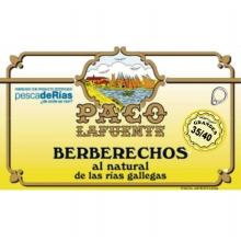 Berberechos al natural 35/40 pza. 115 g