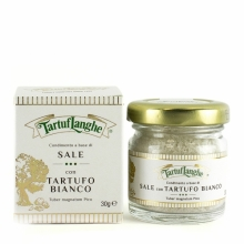 Sal gris de Guérande y trufa blanca 30 g