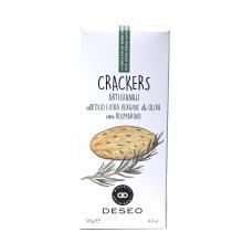 Crackers con aceite de Oliva Virgen Extra y Romero 120 g