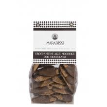 Galletas crujientes de avellanas con chocolate 200 g