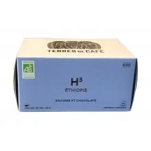 H3 Etíopia. Café mezcla de orígenes. BIO