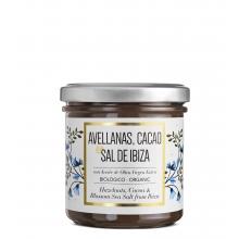 Crema de cacao, avellanas y Flor de sal de Ibiza BIO 150 g