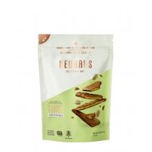 Biscuits finos con pistacho y recubiertos de chocolate con leche 114 g