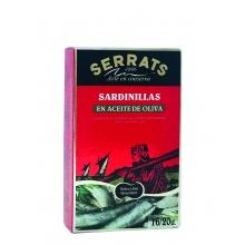 Sardinas en aceite de oliva 118 g | ~16/20 pza