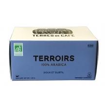 Terrois 100% Arábico. Café mezcla de orígenes. BIO