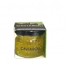 Esferas gelificadas de aceite de oliva Virgen Extra con Wasabi 20 g